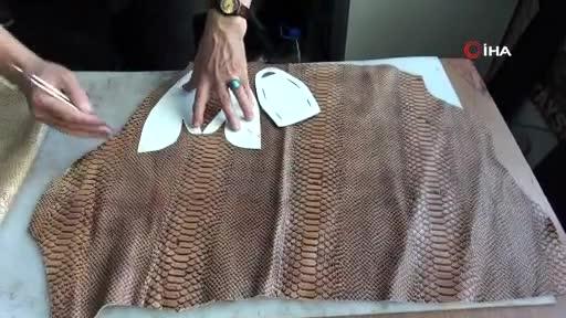 Bursa'da el yapımı deri ayakkabılara büyük ilgi