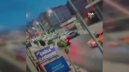 İstanbul'da müzikholde dehşet anları!