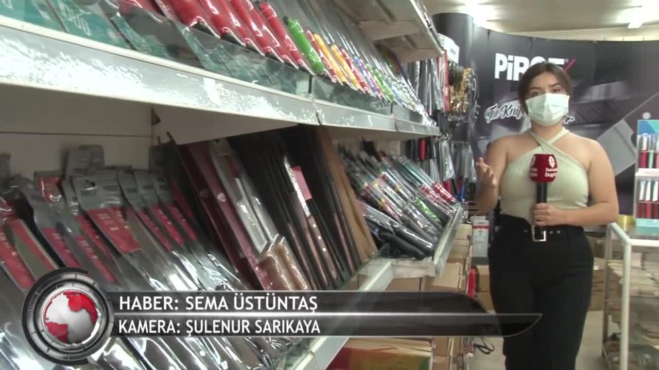 """Kurban Bayramı öncesi Bursa'da bıçak fiyatları ne durumda? """"En pahalı bıçağımız 500 lira"""" (ÖZEL HABER)"""