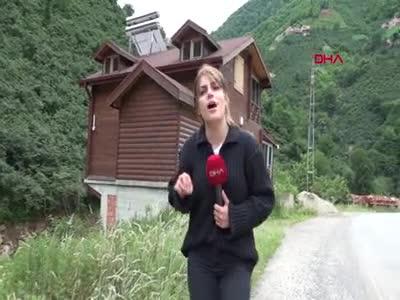 'Tosuncuk' Giresun'da kaçak villa yaptırmış