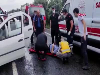 Bursa'da feci kaza: 4 ölü... - 2