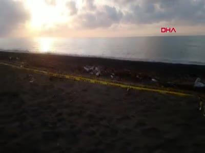 Düzce'de kıyıya vurdu! Polis alarma geçti