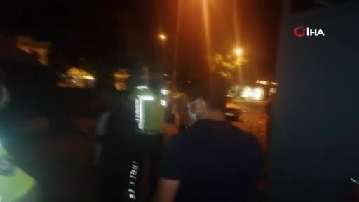 Bursa'da sürücü polis ekiplerine zor anlar yaşattı