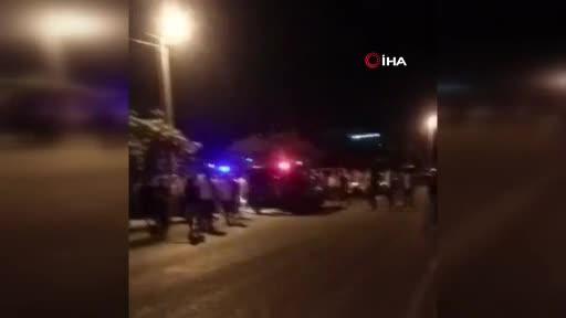 Bursa'da kavga sonrası gergin anlar