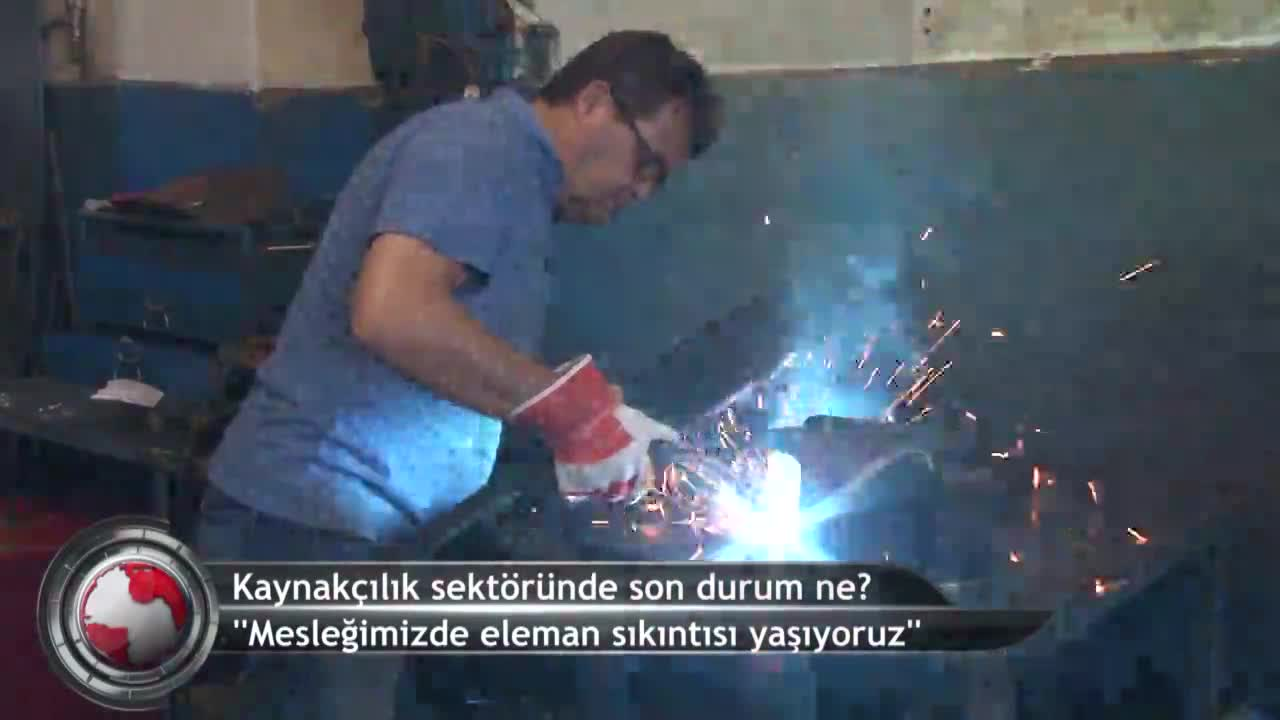 Bursa'da kaynakçılık sektörünün zorlukları neler? (ÖZEL HABER)