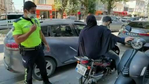 Bursa'da polisten alkışlanacak hareket!