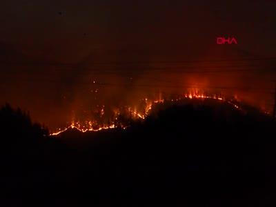 Manavgat'ta büyük felaket! Mahalleler boşaltıldı