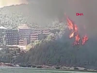 Yine bir yangın haberi daha! Bodrum ve Didim'de de orman yangınları çıktı