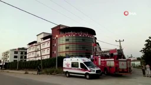 Bursa'da rehabilitasyon merkezinde yangın çıktı!