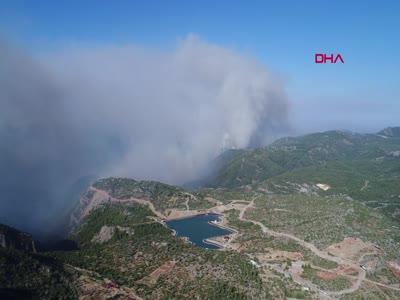 Antalya Gündoğmuş tahliye ediliyor!