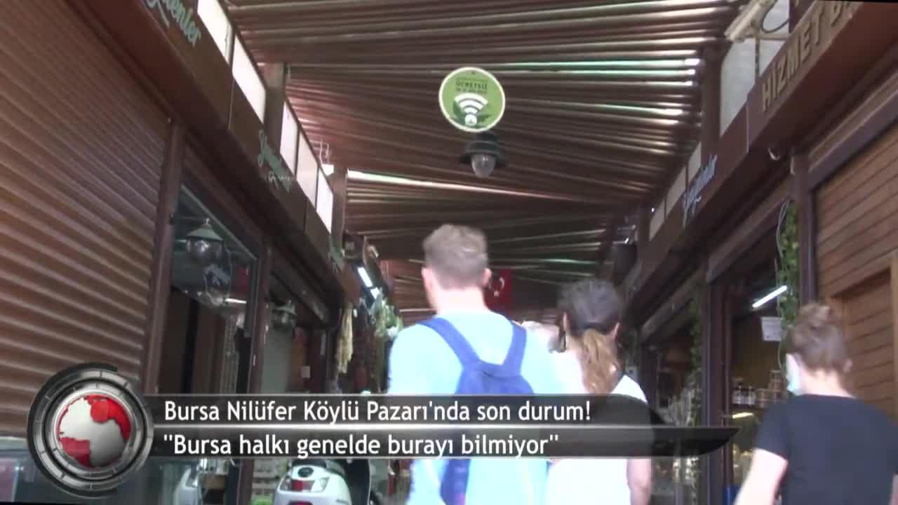 Bursa Nilüfer Köylü Pazarı'nda işler kesat! (ÖZEL HABER)