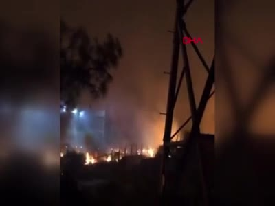 Yangın termik santrale sıçradı! - 2