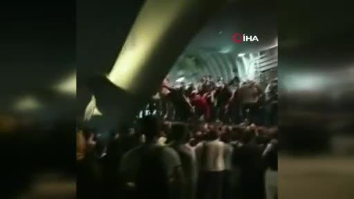 Kabil Havaalanı'nda tahliye sırasında adeta izdiham yaşandı