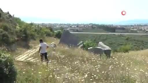 Bursa'daki kral mezarı turizme kazandırılmayı bekliyor