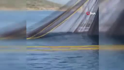 Bursa'da balıkçılar deneme ağlarını attı