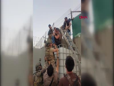 Afganistan'daki 5 sağlık çalışanını Türk güvenlik güçleri kurtardı