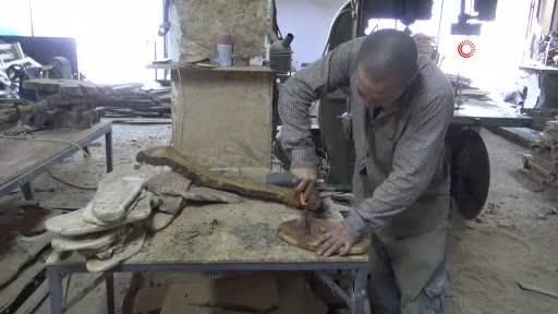 Bursa'da ömrünü tamamlamış asırlık ağaçlar sanat eserine dönüşüyor