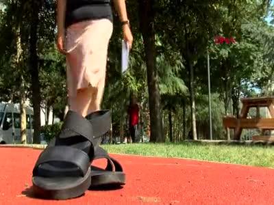 Sadece 1 gün giydiği ayakkabı yüzünden hayatı karardı!