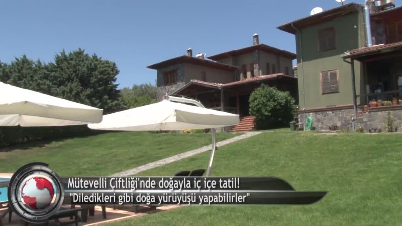 Bursa'da doğayla baş başa tatilin adresi: Mütevelli Çiftliği