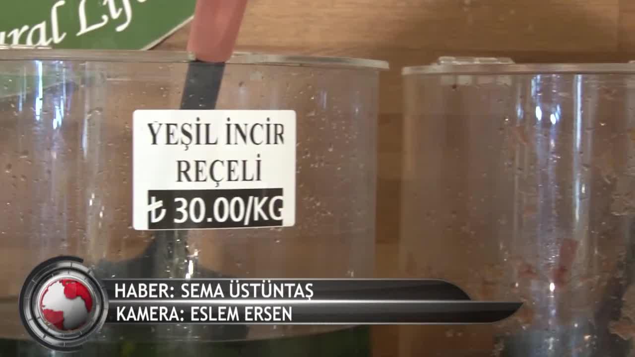 Bursa'nın reçel piyasası (ÖZEL HABER)