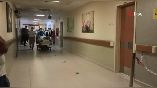 Bursa'da elektrik akımına kapılan işçi ağır yaralandı