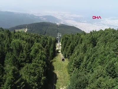 Arap turistler gelmeyince Bursa'da teleferik boş kaldı