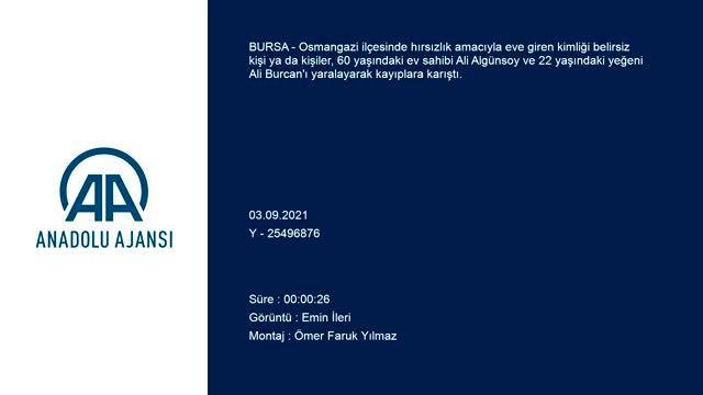 Bursa'da hırsızlık zanlıları aynı aileden iki kişiyi yaraladı