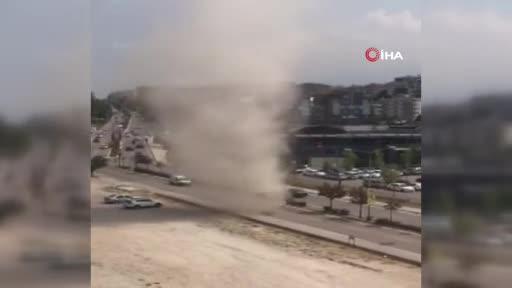 Bursa'da 2 günde 2. hortum paniği!
