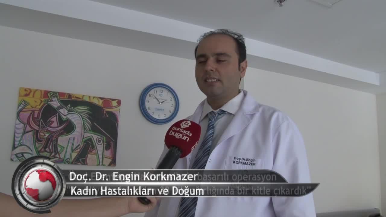 Bursa'da 28 kilo ağırlığındaki kitle çıkarma operasyonu başarıyla gerçekleştirildi! (ÖZEL HABER)