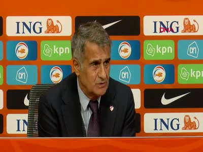 Şenol Güneş, 6-1'lik Hollanda mağlubiyetini değerlendirdi