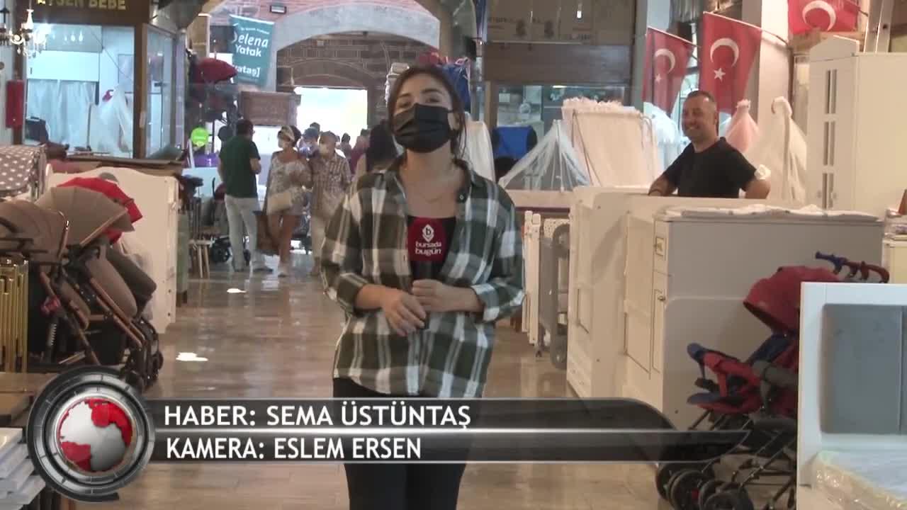 Bursa'da Gelincik Çarşısı esnafı sıkıntılı! (ÖZEL HABER)