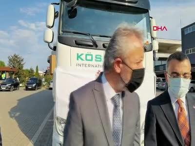 Bursa İnegöl'de yangın mağdurlarına 1 milyon liralık mobilya desteği