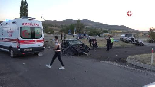 Kırıkkale'de feci kaza: 6 kişi yaşamını yitirdi