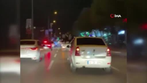 Bursa'da havaya ateş açıldı! Asker ve düğün konvoyunda eğlencenin dozu kaçtı