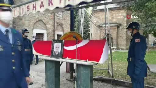 Bursa'da hayatını kaybeden Kore gazisi son yolculuna uğurlandı