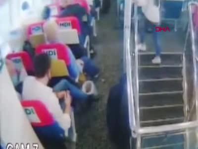 Bursa'da deniz otobüsünde tacize tutuklama