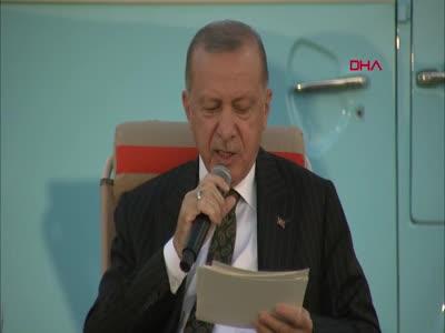 Cumhurbaşkanı Erdoğan: Atılacak adım gençleri daha huzurlu hale getirecek