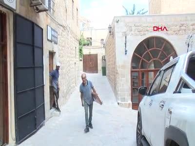 Mardin'de UNESCO Yaşayan İnsan Hazinesi Süphi Yerlihindi'nin dükkanına dadandılar!