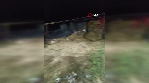 Bursa Yenişehir'de samanlıkta yangın çıktı