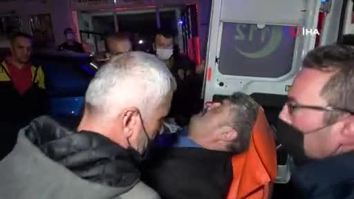 Bursa'da iki grup arasında çıkan silahlı çatışmada, yoldan geçen bir kişi vuruldu: 3 gözaltı