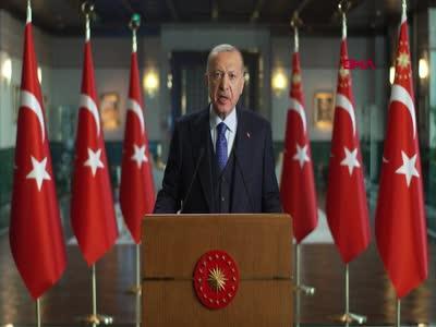 Cumhurbaşkanı Erdoğan'dan iklim değişikliği mesajı