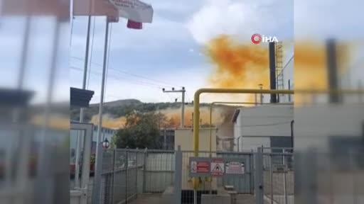 Bursa Kestel'de kimya fabrikasında patlama: 1 ölü, 6 yaralı