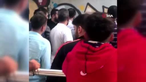 Diyarbakır'da tacizciye sokak ortasında meydan dayağı