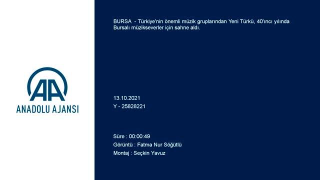 Yeni Türkü, Bursalı müzikseverlerle buluştu